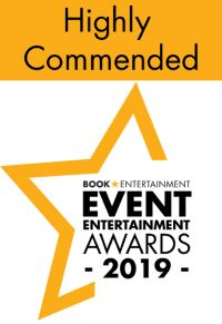 event entertainment awards highly commended